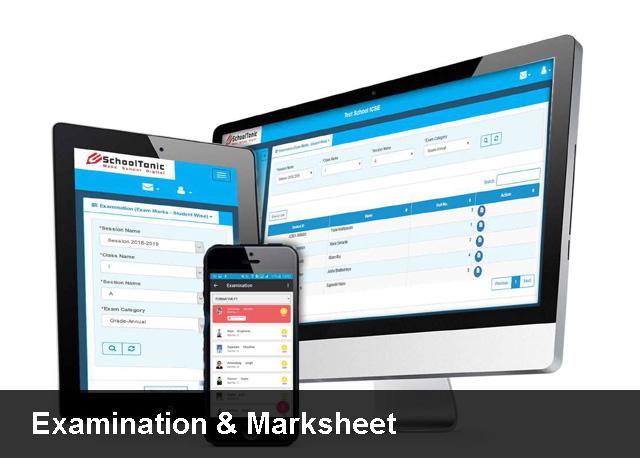 Examination & Marksheet